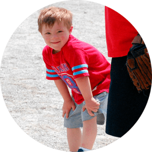Better participate in age-appropriate gross motor or school activities with peers